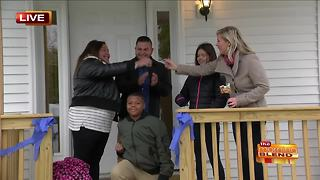 A Deserving Family Gets a New Home