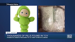 Fentanyl pills found inside toy bought from El Mirage thrift store