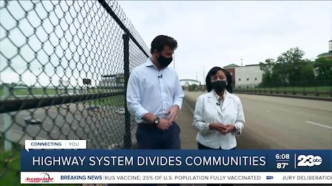 Highway system divides communities