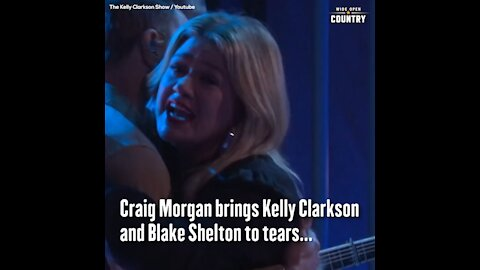Craig a Brings Kelly Clarkson, Blake Shelton to Tears with 'The Father, My Son and the Holy Ghost'