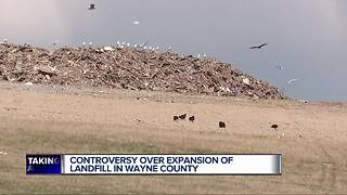 Controversy over expansion of landfill in Wayne County - Video