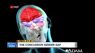 Concussions: Why female athletes are more susceptible than male athletes - Video