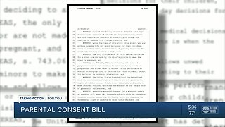 Florida bill could require parental consent for abortion advances