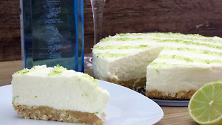 Delicious gin & tonic cheesecake recipe