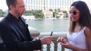 Man Surprises Girlfriend With Magic Trick Proposal - Video