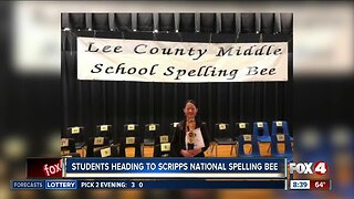 Two Southwest Florida students headed to Scripps National Spelling Bee