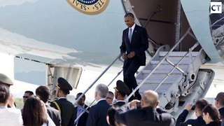 China Humiliates Obama... Forces Him to Make Bizarre Move With Air Force 1 - Video