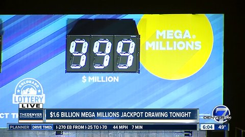 $1.6 billion Mega Millions jackpot drawing is tonight