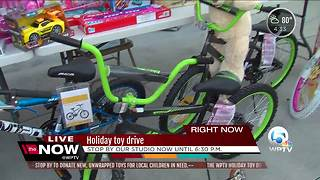 WPTV Annual Toy Drive underway - Video