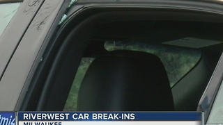 Barrage of overnight car break-ins in Riverwest leave residents rattled - Video