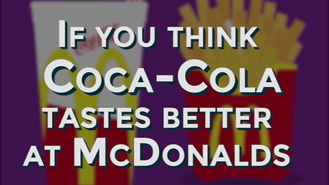 This Is Why Coca-Cola Tastes Better at McDonald's