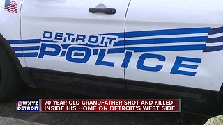 70-year-old grandfather shot and killed inside his home