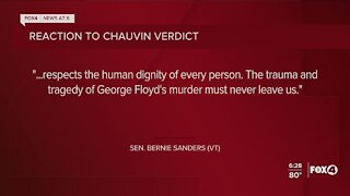 Organizations and leaders react to guilty verdict in Chauvin case