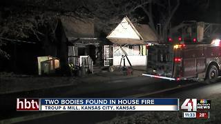 Two people found dead in KCK house fire - Video