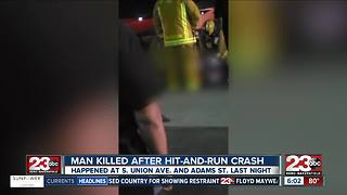 Motorcyclist killed after hit and run crash - Video