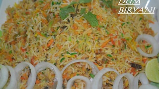 INDIAN FOOD - CORRAT VEG Biryani Easy and Tasty - Video