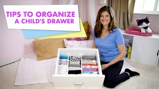 Tips to organize a child's drawer - Video