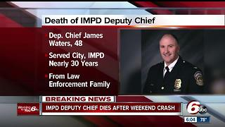 IMPD Deputy Chief James Waters dies after being critically injured in crash involving semi - Video