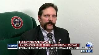 State Sen. Randy Baumgardner steps down as transportation committee chair amid harassment complaints - Video