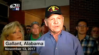 Roy Moore- Allegations are 'absolutely false' - Video