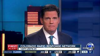 Colorado Rapid Response Network hotline update