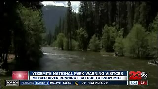NEWSSTATE Yosemite National Park issues water warning to visitors