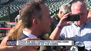 Chris Ilitch insists his family is committed to owning the Tigers long-term - Video