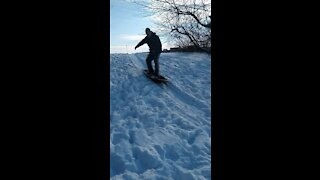 Sledding With The Kids 2
