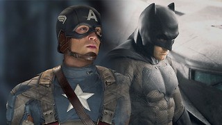 Why the Justice League Movie Will Beat 'Captain America 3' - Video