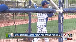 Full Royals team reports for Spring Training