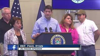 House Speaker Paul Ryan surveys damage in Puerto Rico - Video