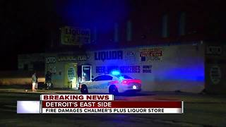 Fire damages liquor store that had controversial attack this week - Video