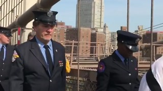 New York Fire Department Remembers 9/11 - Video