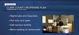Clark County votes on reopening plan