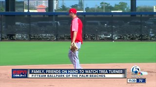 Spring Training is a little extra special for Trea Turner