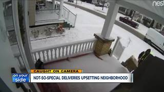 Lakewood homeowner's surveillance camera catches delivery driver tossing Amazon packages - Video