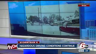 Snowfall totals across central Indiana after a weekend of winter weather - Video