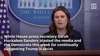 Sarah Huckabee Sanders Holds Up Mirror To Media - Video