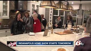 Indianapolis Home Show kicks off on Friday - Video