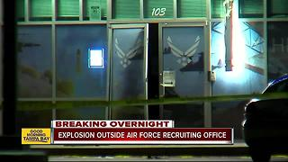 FBI: Explosive device set off at Air Force recruiting center - Video