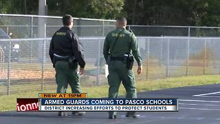 Parents react to district adding 50 armed security guards in Pasco County schools - Video