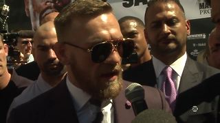 Conor McGregor: 'Another day, another fight.' | Mayweather vs McGregor - Video