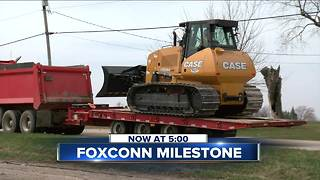 Foxconn construction ready to roll - Video
