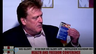 04/16/2021 Patrick Byrne Interview Health & Freedom Conference Tulsa OK His Glory