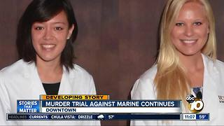Murder trial underway against Marine - Video