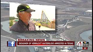 Designer of Verruckt arrested at DFW Airport - Video