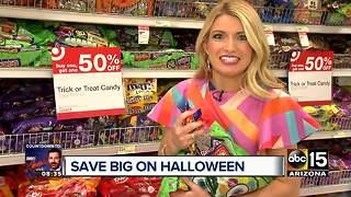 Target offering 'killer' deals on Halloween costumes, candy - Video