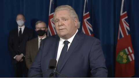 Here's How Ontario's New Shutdown Is Different Than The Lockdown Zone