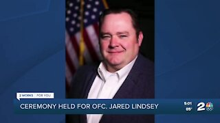 Ofc. Jared Lindsey inducted into TPD memorial
