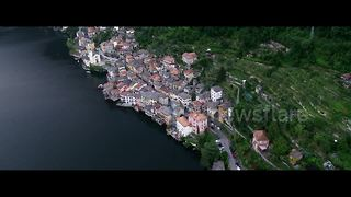 Stunning drone footage of Lake Como, Italy - Video